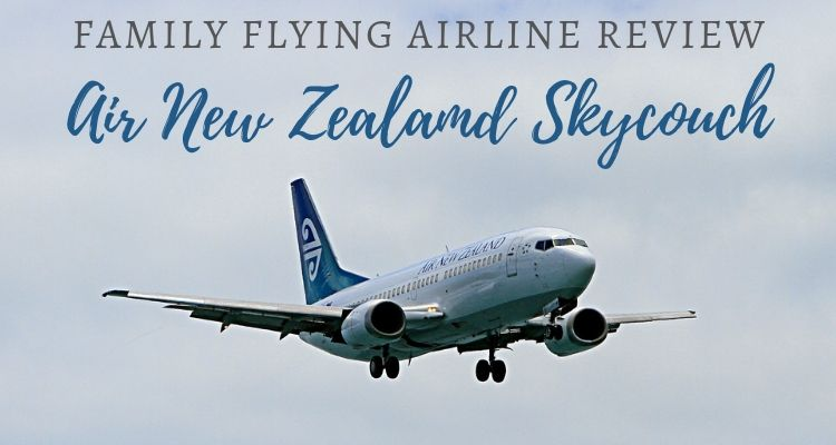 Family Flying Airline Review Air NZ skycouch