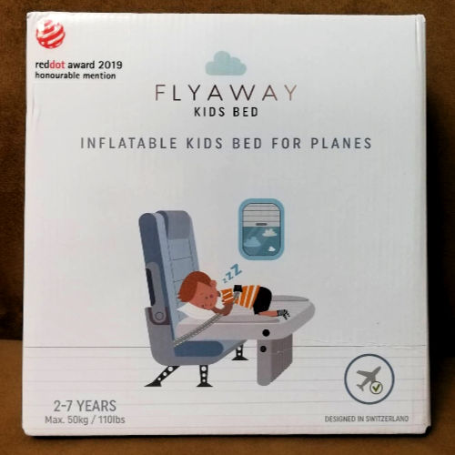 Packaging for the FLyawya Kids Bed