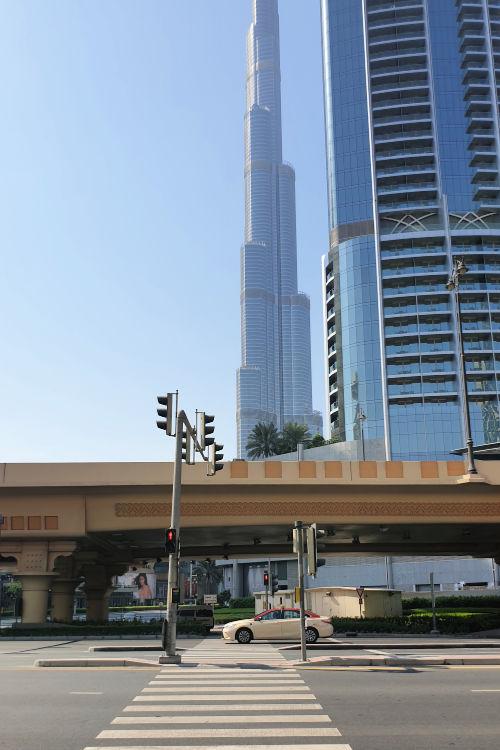 Roda Al Murooj Dubai Mall Burj Khalifa