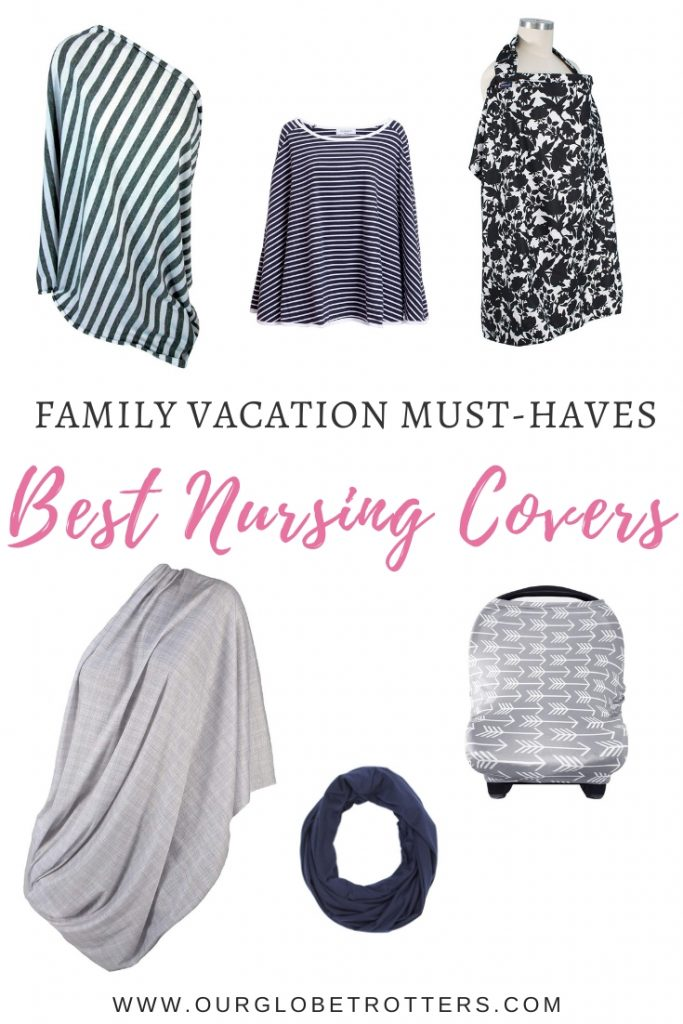 Best nursing covvers - a display of different styles of nursing covers