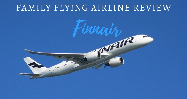 What should you expect flying Finnair with kids?