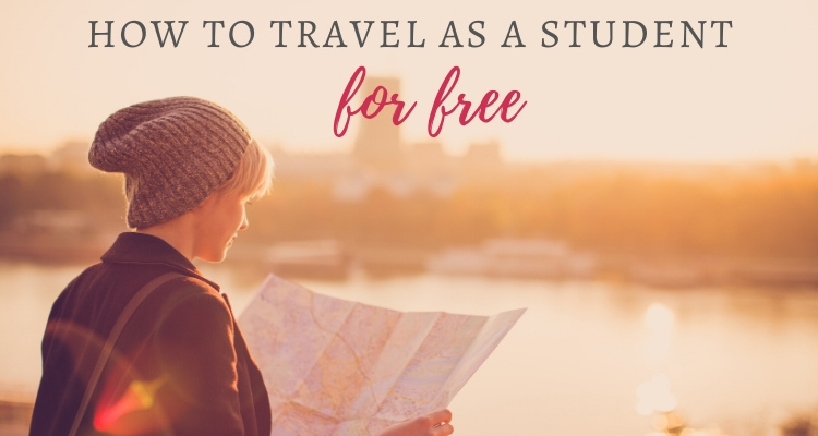 Interesting ways for students to travel for free