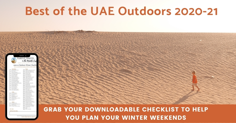 Best UAE outdoor winter activities 2020-21