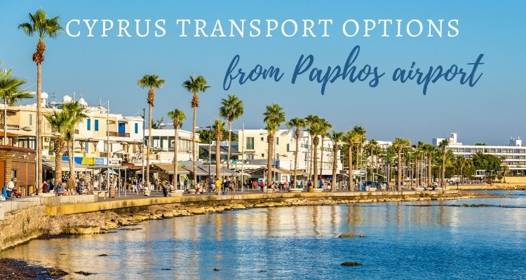 Paphos Transport options in Cyprus - Paphos harbour