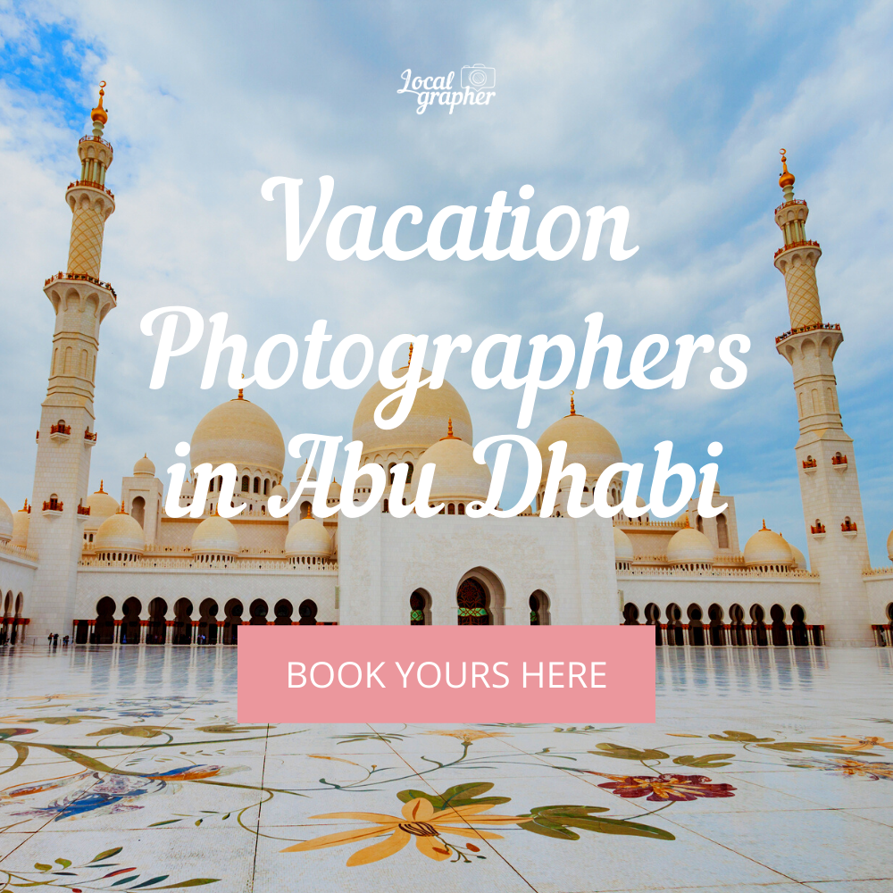 Vacation Photographer in Abu Dhabi