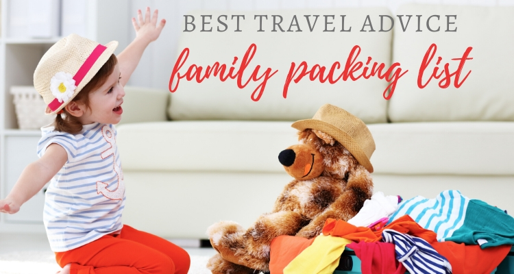 Packing for your family vacation this summer