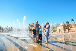 Family at Emirates Palace Abu Dhbai review of Localgrapher photographers