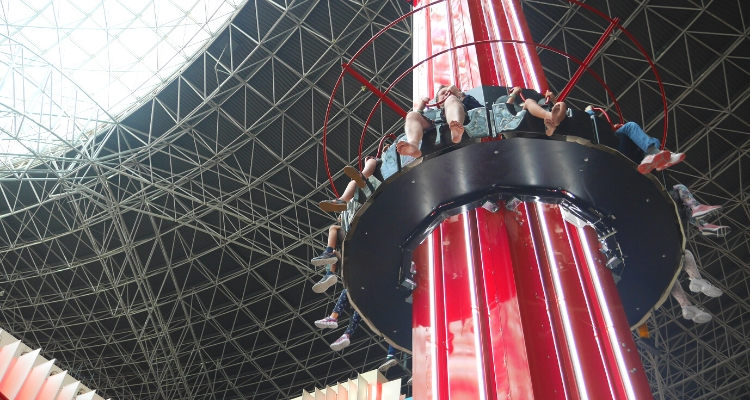 Turbo Towers Kids Ride at Ferrari World