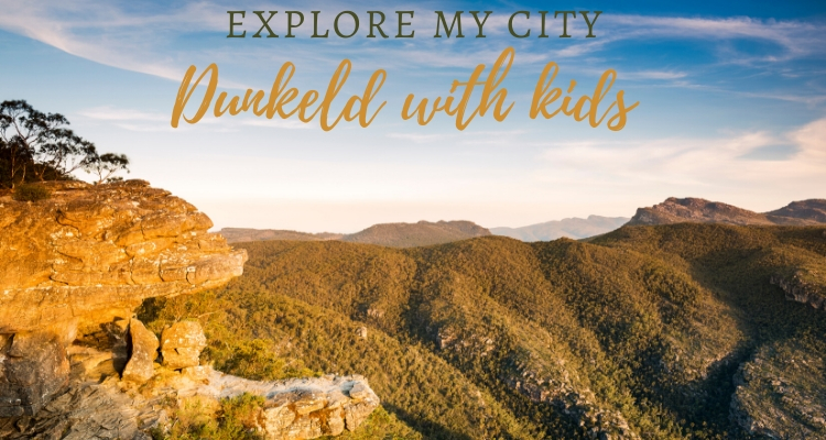 Exploring Dunkeld and the Southern Grampians with Kids
