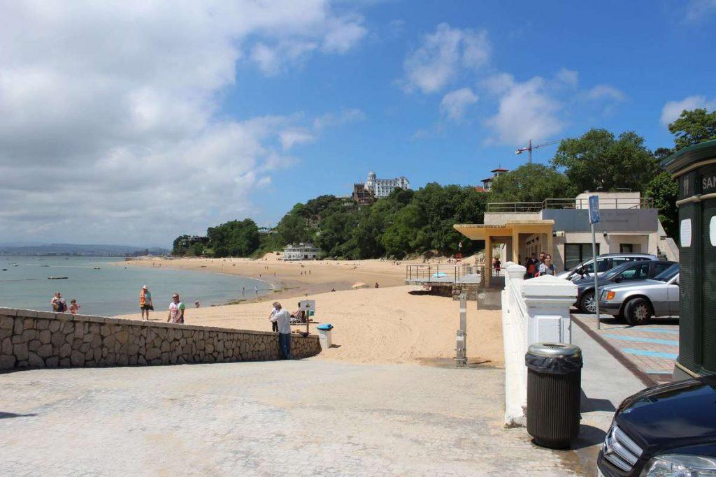 Santander Spain Playa de los Peligros