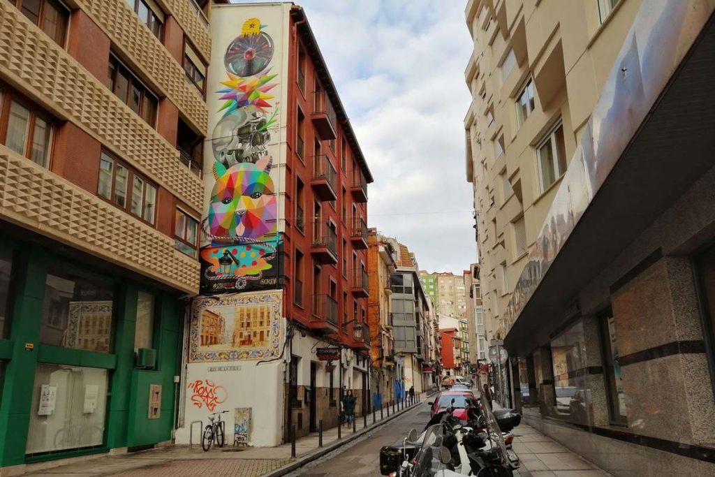 Santander Spain Street Art