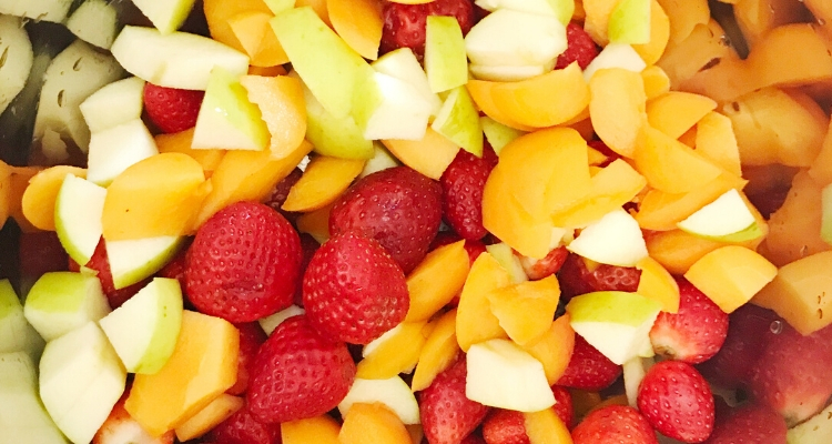 health snacks fresh fruit