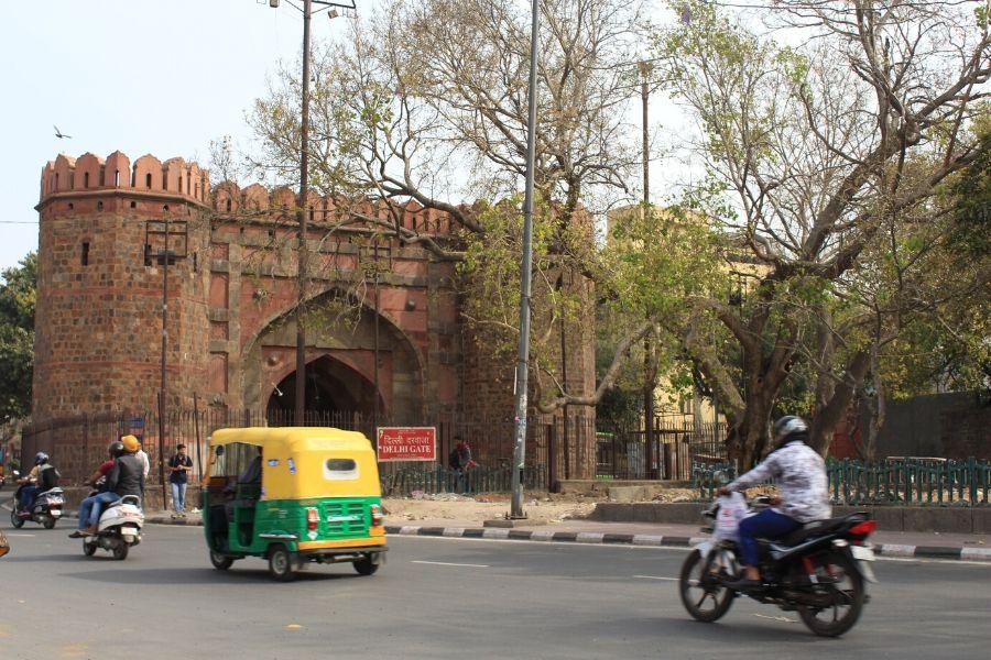 Famous Delhi Gate in Delhi India