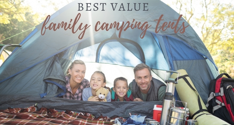 Best value family camping tents for outdoors