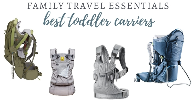 Best Carriers for Toddlers & Hiking Carriers in 2020