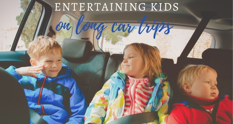 4 Ways To Entertain Kids On Long Trips By Car