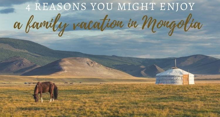 Mongolia Family Vacation, yurt and horse