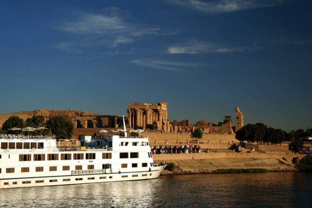 Cruise boat on the Nile
