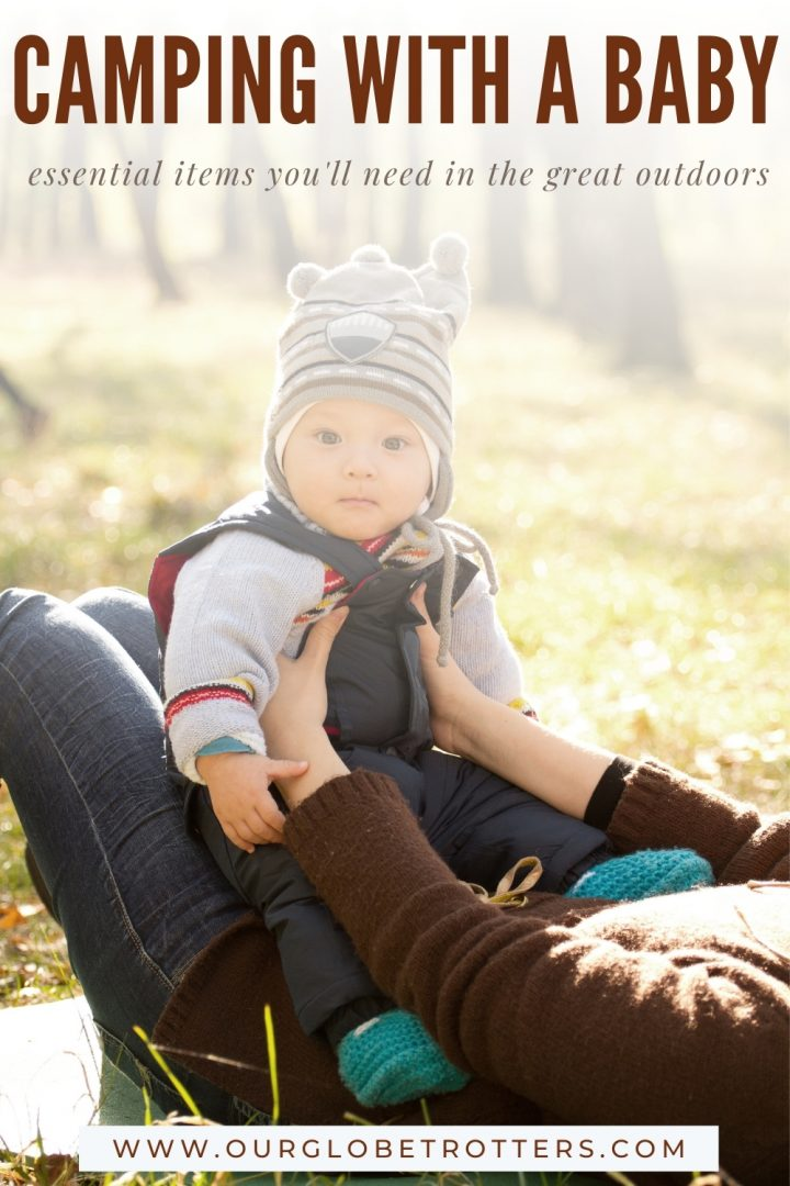 Baby in the outdoors - guide to camping with a baby