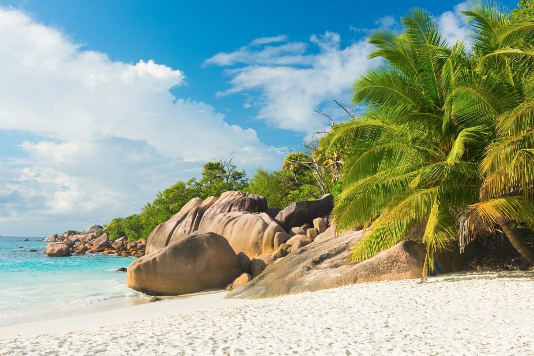 Anse Lazio beautiful beach Seychelles