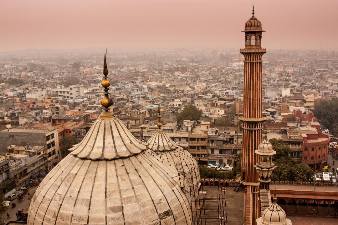 New Delhi Skyline -