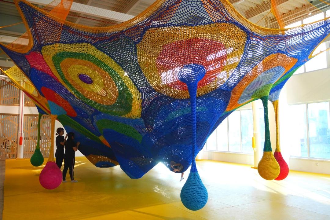 Toshis Net OliOli Dubai Childrens Play Museum