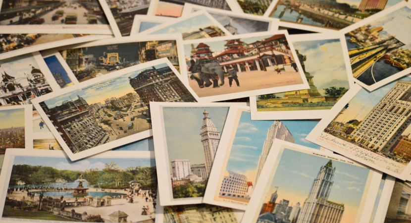 Postcards - using your travel photos
