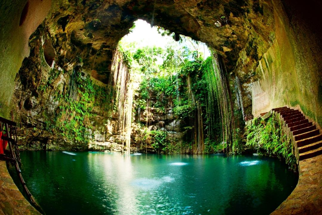 Cenote at Chichen Itza, Mexico