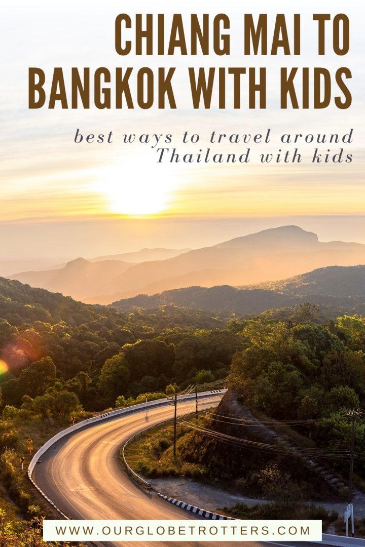 Chiang Mai to Bangkok  Road