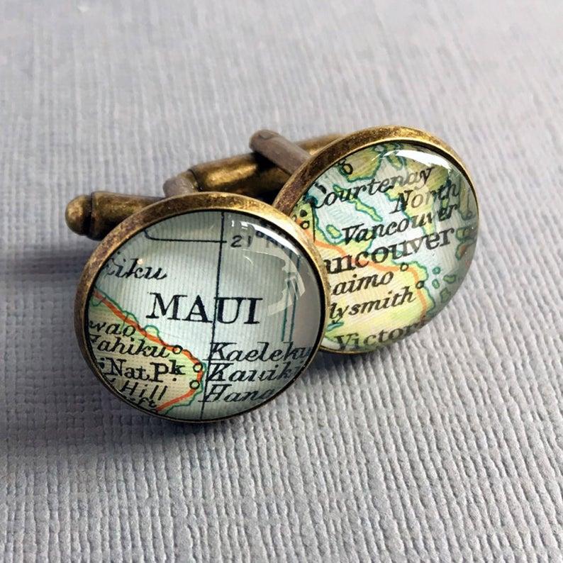 Etsy Customisable cufflinks