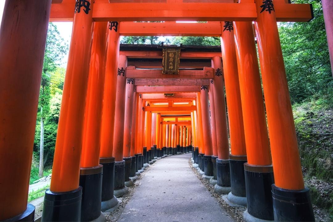 Fushimi Inari-taisha Japanese Temple
