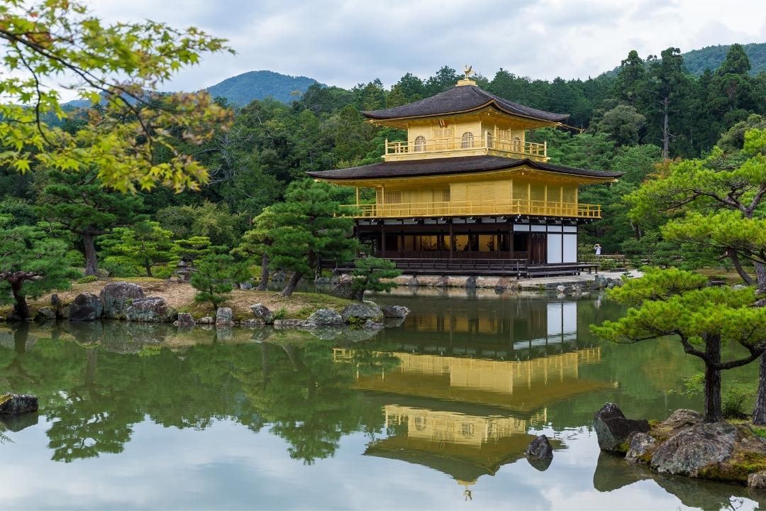 Kansai Japan -Kinkaku-ji Temple