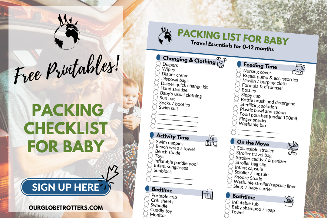 Packing List Sign Up - Baby
