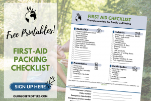 Packing List Sign Up - First Aid