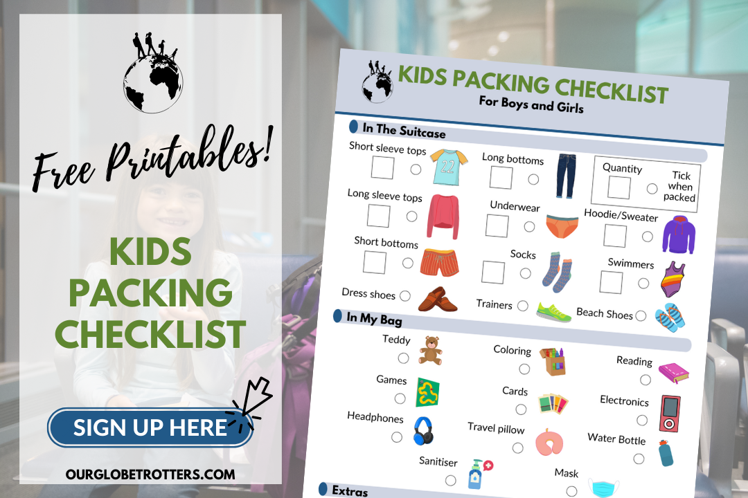 Packing List Sign Up - Kids