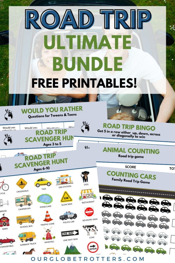 Road trip ultimate entertianment bundle