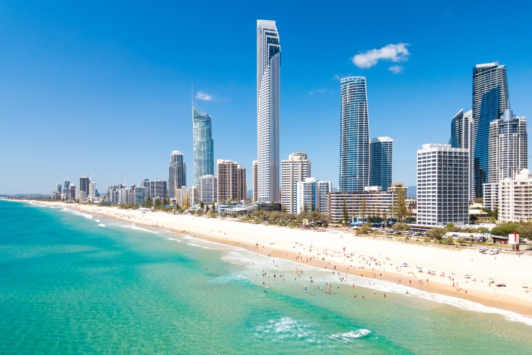 Gold Coast, Queensland Australia - a great place to visit in August Downunder