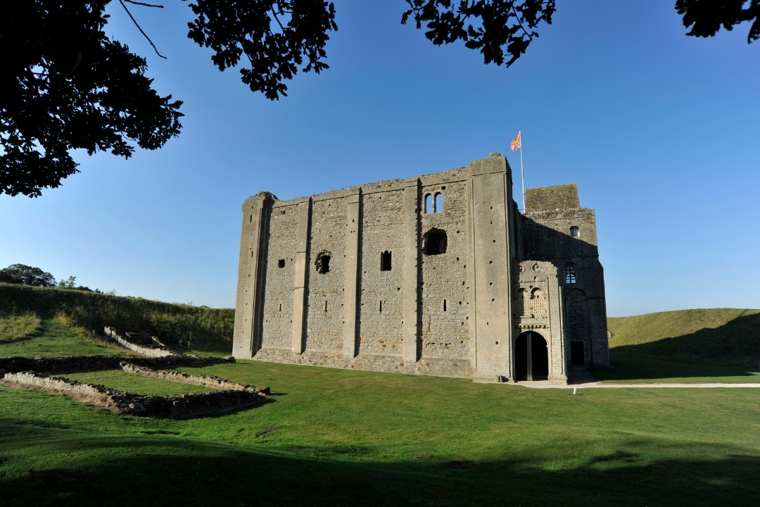 Castle Rising in Norfolk, England - places to visit in August