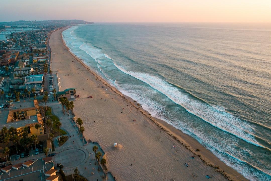 Beaches in San Diego - US West Coast