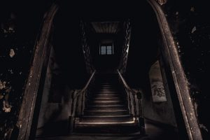 A hanuted staircase
