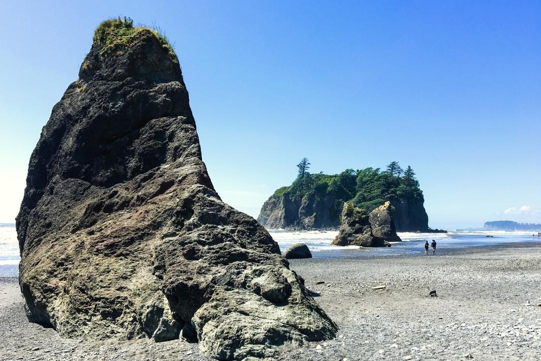 Ruby Beaach - best beaches on the Olympic peninsula Washington