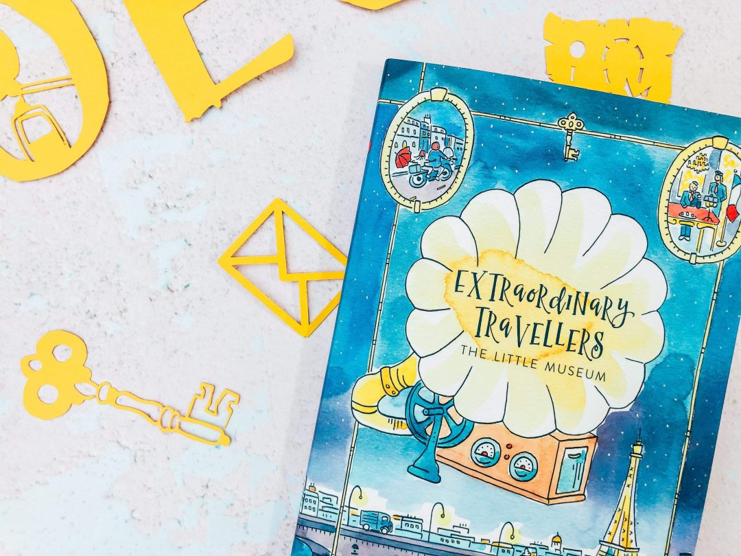 Cover photo of the ween book Extraordinary Travellers