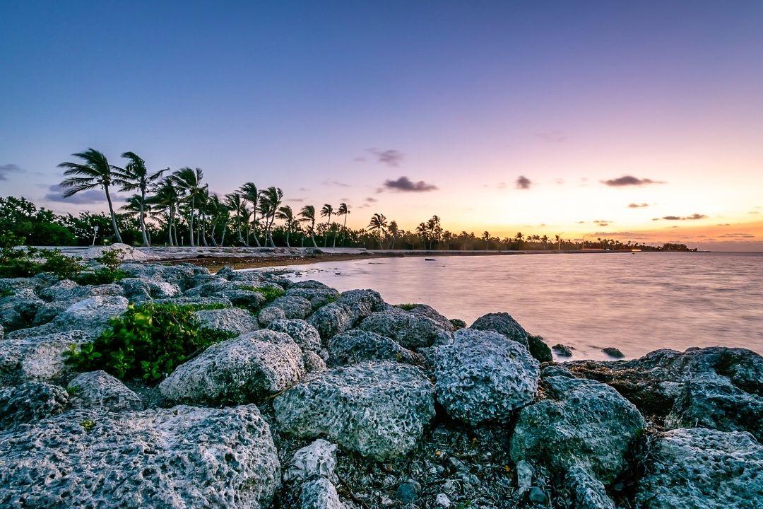 Sunset Key West in winter