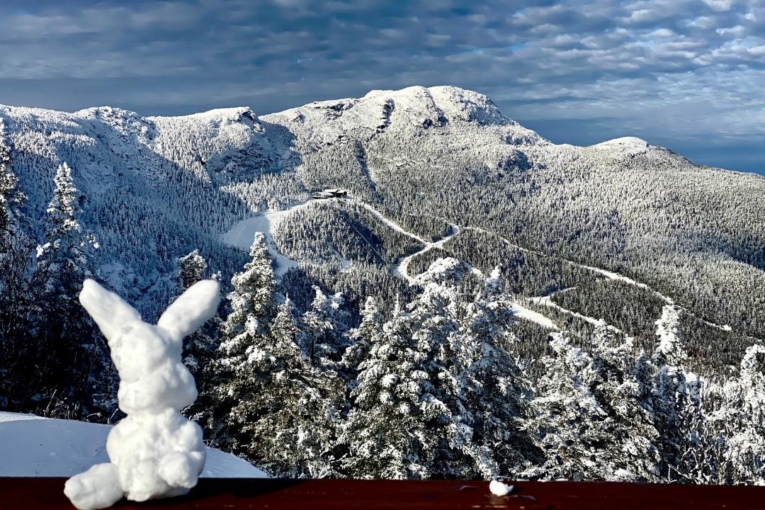 Stowe Vermon family skiing